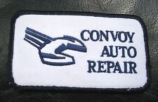 CONVOY AUTO REPAIR EMBROIDERED SEW ON PATCH AUTOMOBILE UNIFORM BADGE SAN DIEGO