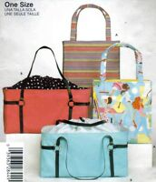 2004 Bags in Two Styles Sewing Pattern Simplicity 4909 OOP