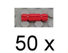 LEGO Technik - 50 x Achse mit Nut 2 Noppen lang rot / 32062 NEUWARE