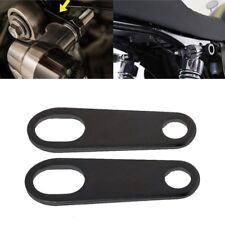 2PCS Black Universal Mini Motorcycle Rear Turn Signal Holder Mount Brackets