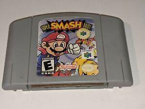SUPER SMASH BROTHERS Nintendo 64 ORIGINAL/AUTHENTIC N64 Video Game Cartridge