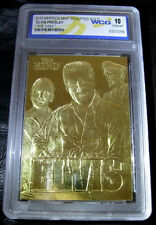 Elvis Presley Gracelands Gold Card Memphis Viva Las Vegas Casino Americana USA