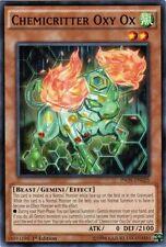 3X Chemicritter Oxy Ox-Common-INOV-EN025-NM-Yugioh Invasion: Vengeance