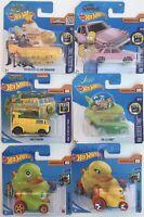 Hot Wheels Job Lot - Ducks, Beatles, Turtles, Flying Saucer, Homer's at the Duff