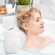 Bathtub Pillow, Pillows for Tub with Neck, Head, Shoulder and Back Support