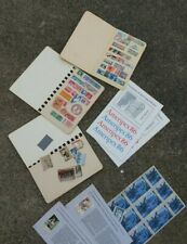 Stamp Collection Lot ~ Europe ~ U.S.A. & South America ~ From Estate