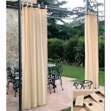 Tenda da sole a bretelle resinata idrorepellente per gazebo/esterno 150xH280 cm