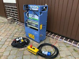 Bauaufzug Baulift Leiterlift GEDA Fixlift 250 Ersatzwinde