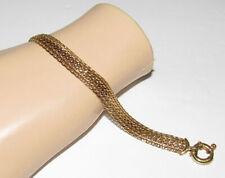 """Milor Italy 14K Yellow Gold Mesh Bracelet 7"""" 8.4 Grams"""