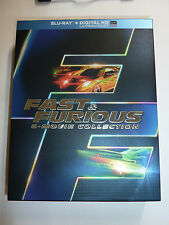 The Fast & The Furious: 6 Movie Collection Blu-Ray 6-Disc Box Set action movies