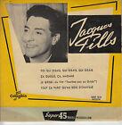 45TRS VINYL 7'' / FRENCH EP JACQUES PILLS / LE GRISBI + 3