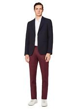 Paul Smith PRXC-755P-T94 Slim Fit Casual Burgundy Trouser S 30 Men's Brand New