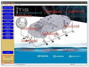 TOYOTA Techstream V16.00.017 (07/2021) free Teamviewer installation - Activation