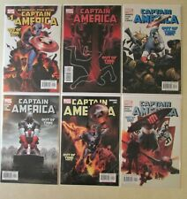 6 ISSUE RUN CAPTAIN AMERICA 1 2 3 4 5 6 FIRST WINTER SOLDIER BRUBAKER EPTING