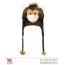 Adult Monkey Chimp Novelty Hat With Built In Scarf Winter Warmer