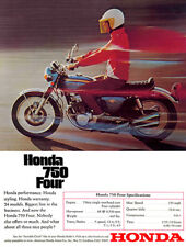 1969 Honda CB 750 Four - Promotional Advertising Poster