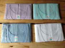 4 X Ladies Colour 100% Cotton Scalloped Edged Vest Underwear Top OS size NEW