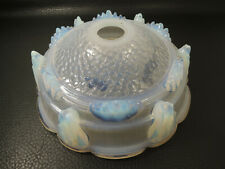 Ezan French Art Deco Opalescent Table Lamp Light Shade 1930s