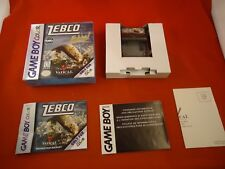 Zebco Fishing (Nintendo Game Boy Color, 1999) COMPLETE w/ Box manual game WORKS!