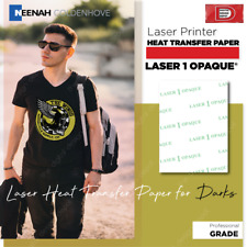 Heat Transfer Paper Laser 1 Opaque For Dark T Shirt Neenah 85 X 11 25 Sheet