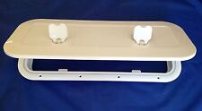 BOAT ACCESS HATCH WHITE QUALITY WALK ON LID 600x250  RIB YACHT MOTORHOME