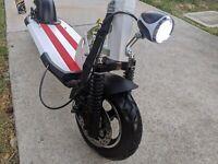 ✅Electric scooter 500w10inch Folding lightweight. BIG🔋 USA ship!! W/seat🔥🔥👀