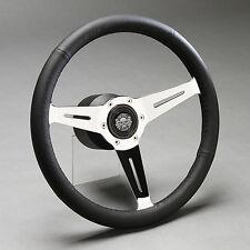 Volante deportivo volante de cuero de cuero volante 350mm VW Golf I cabrio Corrado polo nuevo