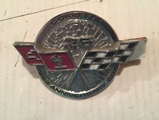 1978 Corvette 25th Anniversary Nose Front Emblem NOS GM 472717