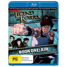 LEGEND OF KORRA - BOOK ONE - AIR   - Blu Ray - Sealed Region B for UK
