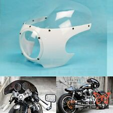 "5-3/4"" Headlight Fairing Windscreen Vintage Drag Racing Viper For Cafe Racer Hot"
