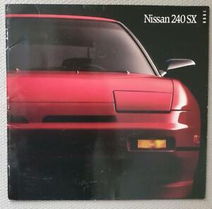 Officiel Workshop Manual Service de réparation pour NISSAN 240SX 1989-2002