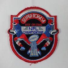 1972 Super Bowl VI NFL Football Dallas Cowboys Roger Staubach Miami Dolphins