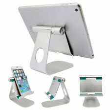 For iPhone iPad Tablet PC GPS 270° Rotatable Aluminum Desktop Holder Table Stand