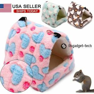 Cage Rabbit Guinea Pig Mat Small Animal House Warm Pad Hamster Sleeping Bed new