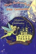 Disney Visa CardMember Exclusive Tinker Bell Collectors Pin 50 Years May 5, 2005
