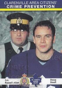 2001-02 St. Johns Maple Leafs Crime Prevention #4 Doug Doull