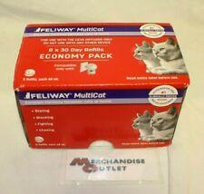 New listing Feliway MultiCat Calming Diffuser Refill (6 Pack, 48 ml) Expires 4/2021