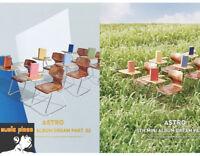 ASTRO 5TH MINI ALBUM DREAM PART.02 BOOKLET+PHOTOCARD+POSTCARD+POLAROID