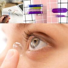 Contact Lense Applicator Remover Set Inserter Soft Tip Tweezers Hygienic Lens W