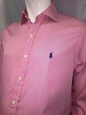 """Ralph Lauren Mens Long Sleeve Formal Shirt Collar Size 15.5"""""""