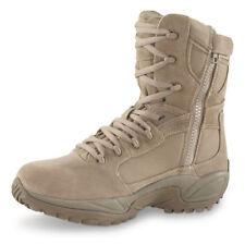 """Reebok ERT 8"""" Soft Toe Side Zip Waterproof Combat/Tactical Boot Desert Tan 8996"""