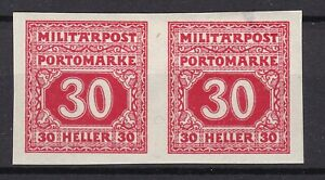 Bosnia Herzeg - 1916 -  Michel porto 22 U pair - MH/MNH
