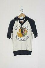 Mitchell and Ness Women's Vintage Hockey Sweatshirt Hoodie Chicago Blackhawks Lg