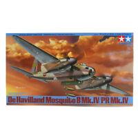 Tamiya De Havilland Mosquito BMk.IV/PR Mk.IV Model Set (Scale 1:48) 61066 NEW