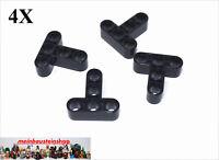4X Lego® 60484 Technik Liftarme Beams T-Stück 3X3 Schwarz Black NEU