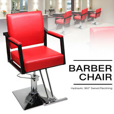 Hydraulic Swivel Barber Chair Hair Styling Salon Station Beauty Spa Equipment