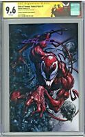 Web of Venom Funeral Pyre #1 CGC 9.6 SS Scorpion Comics Clayton Crain Virgin COA