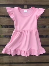 Sweet Soft Pink Tunic Dress NWT Size 8-9