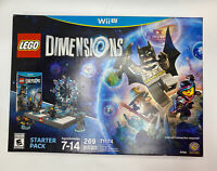 LEGO Dimensions Starter Pack Nintendo Wii U Brand New 71174 Sealed Christmas
