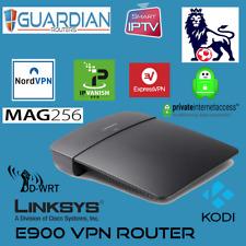 Linksys E900 VPN Router DDWRT IPVanish NORD Express PIA With Free VPN Setup